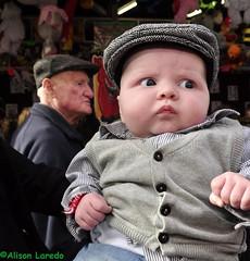 Fashion by Alison Laredo (alison laredo) Tags: ireland horse baby galway hat culture oldman tradition ballinasloe flatcap octoberfair irishtraveller wwwalisonlaredocom