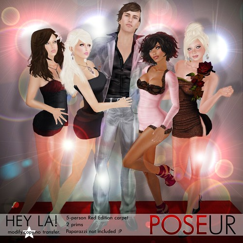 POSEUR - Hey LA! (Red)