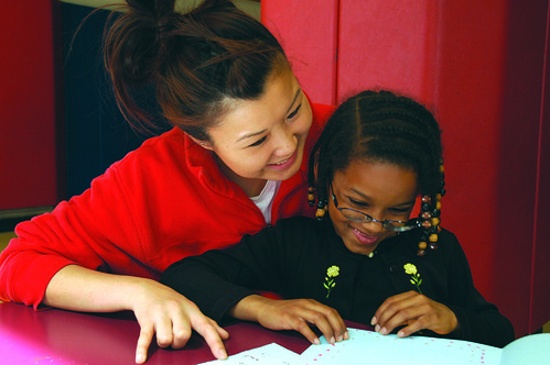 Connecting with a Student - the Power of by cityyear, on Flickr