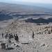 Dust-skiing down Kilimanjaro