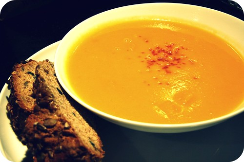 bowl-o-butternut soup