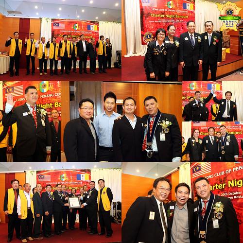 Charter banquet of Lions Club of Penang Centennial1