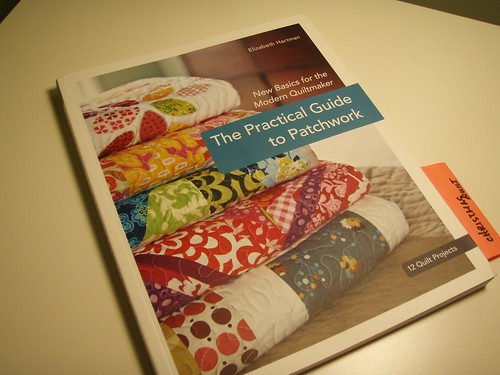 1st Quilting book!