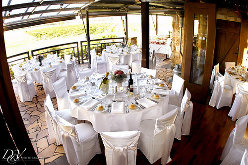 Restaurant Cuvee, Peterson House - Wedding function room setting.