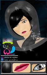 رسمه من خاطر «-- >.<' (الوجدان) Tags: girl بن بنت رسم الوجدان تول