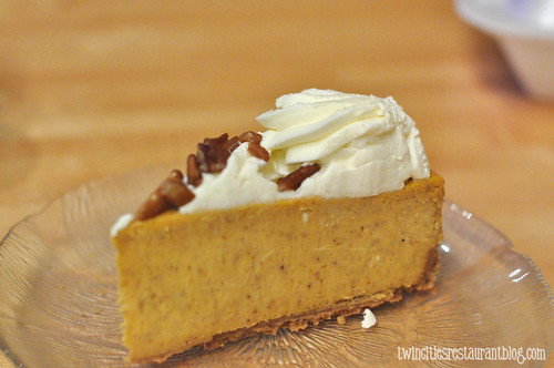 Pumpkin Cheescake at Norman Quacks ~ Forest Lake, MN