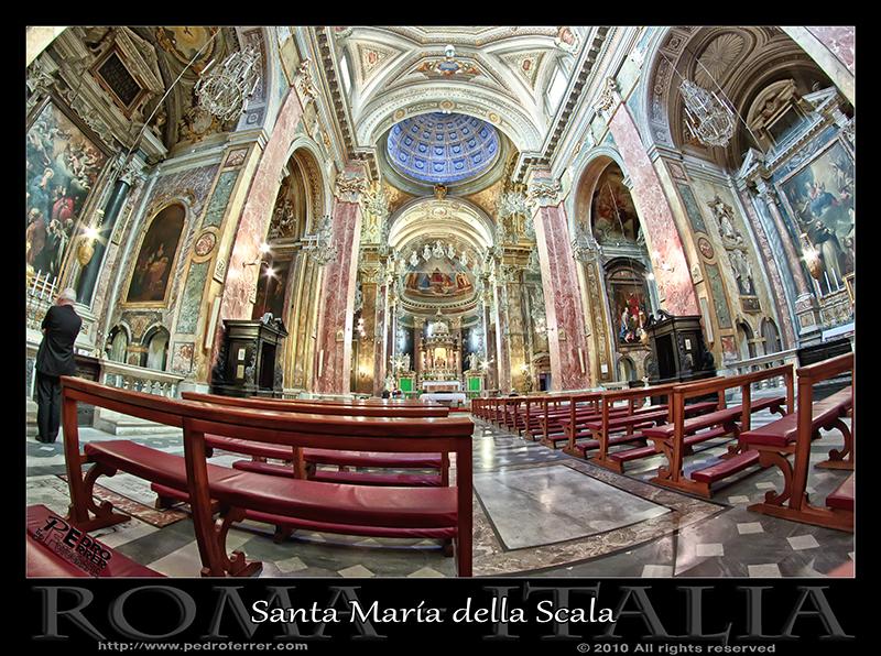 Roma - Trastevere - Santa María della Scala