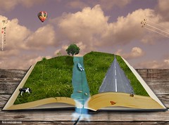 We all have a memory book and each page tells a story. (Rui Almeida.) Tags: wallpaper composition photoshop book background surreal illusion page psd surrealistic ilustration tripleniceshot mygearandme historicbook