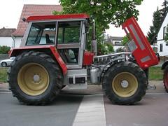 Big Schlter (Flugi2407) Tags: street red rot traktor alt bulldog oldtimer motor ausstellung historisch strase schlter