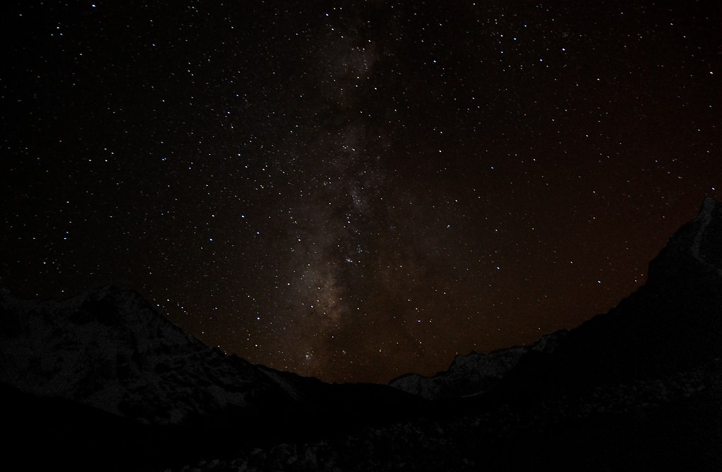 Milky Way over Chhukung