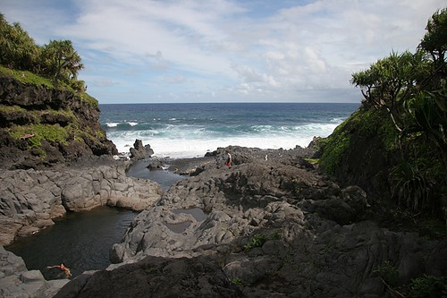 O'heo Gulch Pools - Hana