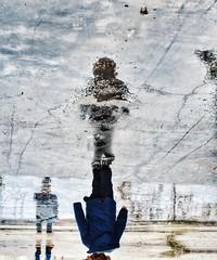 * (PattyK.) Tags: rain rainyweather reflection myson family child ioannina giannena giannina epirus ipiros greece grecia griechenland hellas ellada europe balkans europeanunion ελλάδα ιωάννινα βροχή αντανάκλαση βροχερόσκαιρόσ παιδί snapseed nikond3100