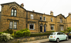 236 -  Saltaire - Albert Road - Houses for professionals and teachers (1 of 1) (md2399photos) Tags: 2jun17 almshouses davidhockney robertspark saltaire saltaireunitedreformedchurch saltsmill victoriahall