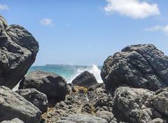 2017-04-27_10-49-34 Sploosh! (canavart) Tags: sxm stmartin stmaarten fwi orientbeach orientbay beach ocean waves tropical caribbean island