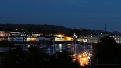 Across the creek (PAUL Y-D) Tags: devonport plymouth stonehoue royalwilliamyard night longex lights reflections water sigma50500mm canon7dmkii