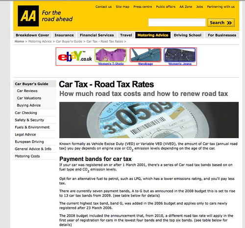 AA drops 'road tax'