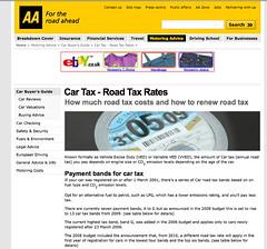Don't call it 'road tax', call it 'car tax'  (AA, Post