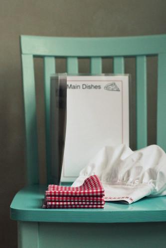 handmade gift: restaurant set