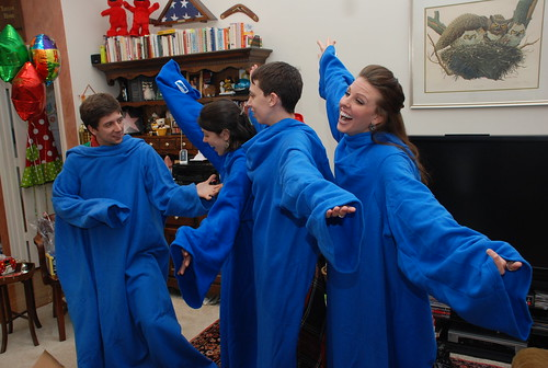 Show Choir of Snuggies