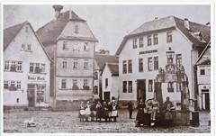 Nidda Marktplatz - um 1900