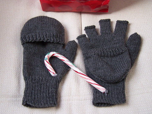 Flip top gloves for Dad & HWJF