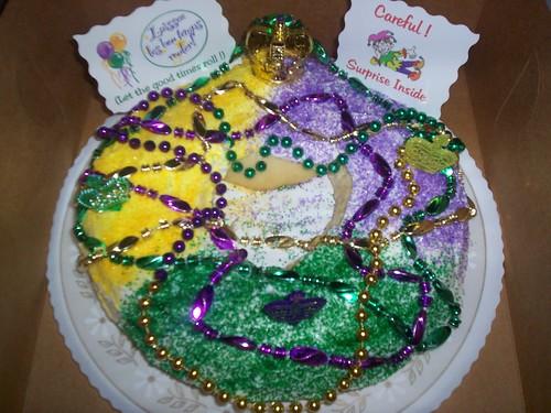 King Cake Pic