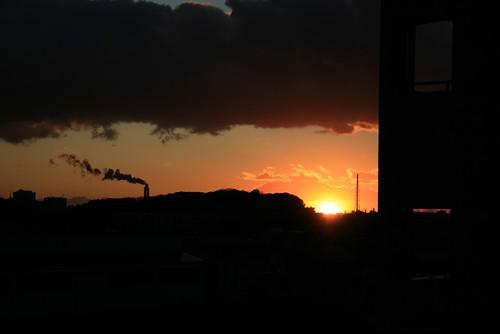 2009最後の夕日