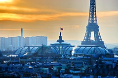 Paris vu depuis la terrasse du Printemps 31 (paspog) Tags: paris roofs toits decken fiatlux toitsdeparis abigfave impressedbeauty
