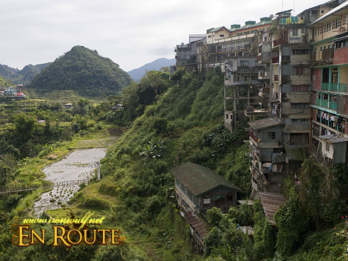 Banaue Cliffside Structures