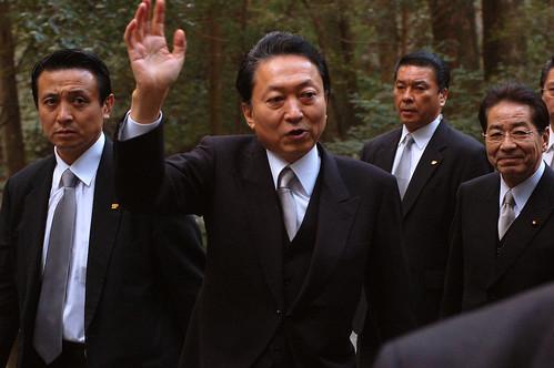 2010/01/04 伊勢神宮 鳩山総理参拝