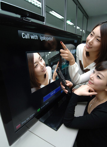 LGEPR님이 촬영한 LG브로드밴드TV(제품명:SkypeTM on  Your TV).