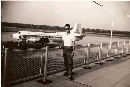 John at Port Columbus; Eastern Airlines