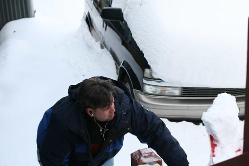 Shoveling Snow #1