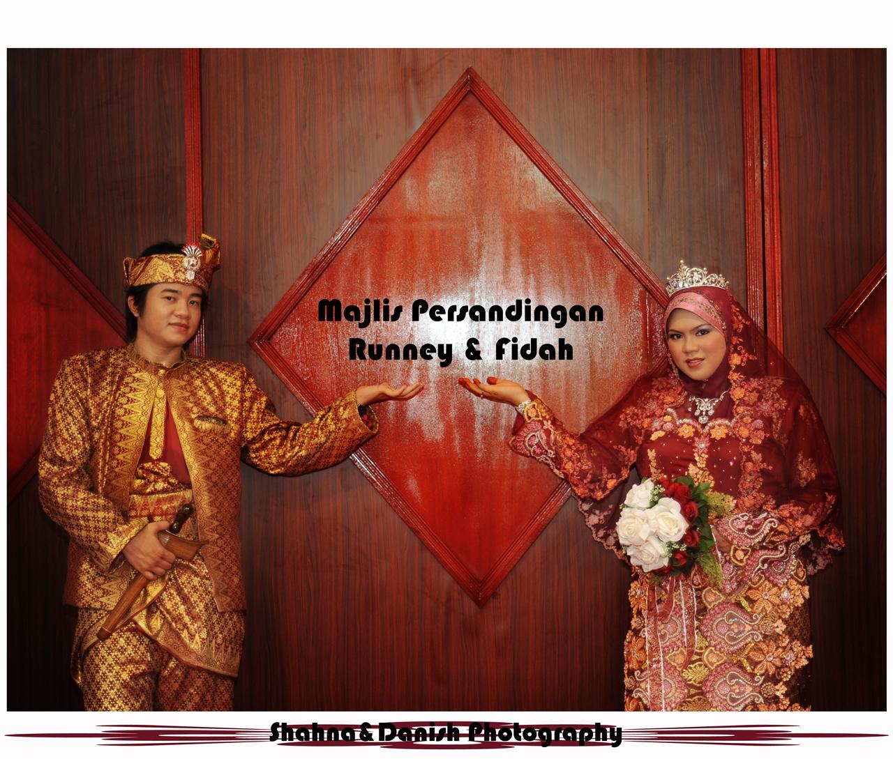 Bersanding runney&fidah