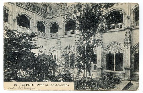 Claustro de San Juan de los Reyes a inicios del siglo XX