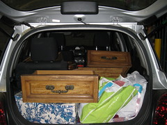 Car Full of Drawers