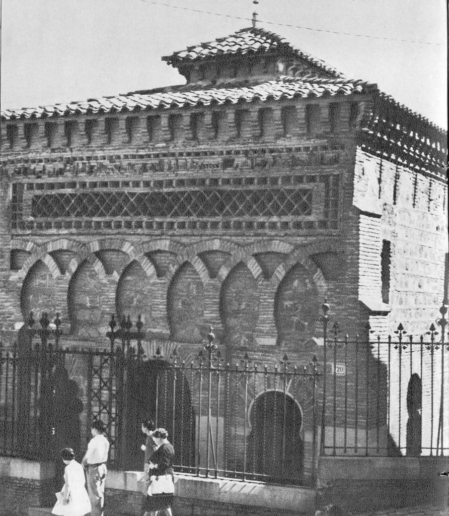 Mezquita del Cristo de la Luz a mediados del siglo XX