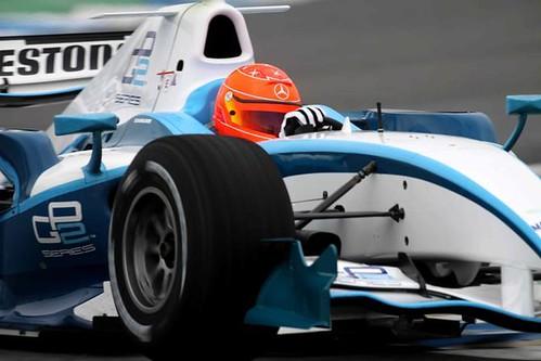 SPORT, F1: TEST DI MICHAEL SCHUMACHER CON MONOPOSTO GP2