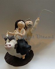 Western Couple (Bettys Sugar Dreams) Tags: cakes cake germany country hamburg western rodeo hochzeit hochzeitstorte topper kurs fondant weddingc brautpaar caketop sugarpaste motivtorten motivtorte sugardreamsde bettinaschliephakeburchardt bettyssugardreams tortenkurs tortendekorationskurs