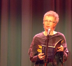 Lesley Saunders reading her work