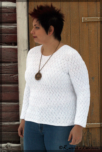 double lattice sweater 5