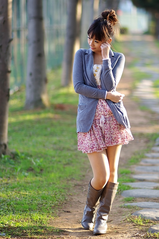FA 85mmF1.4鏡頭下的美少女-夏依