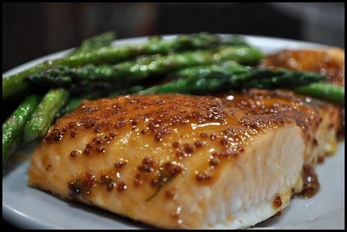 Mustard Glazed Salmon | Bon Appetit Hon