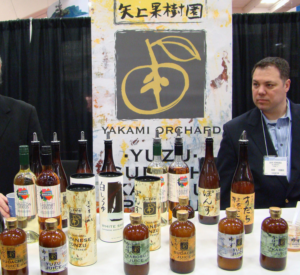 We met Yakami Orchard at a Trade Show