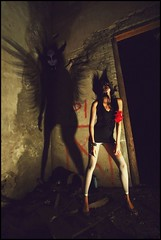 Devil Inside (The Dream Seeker.) Tags: life shadow woman color colour cute art girl modern angel dark asian japanese photo high still rainbow model pretty image artistic picture evil pic korean fallen devil inside     devilinside