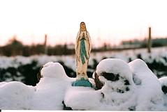 (alex.kurunis) Tags: winter snow mary icon virginmary pentaxsp1000