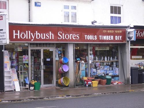 Hollybush Stores, Crystal Palace