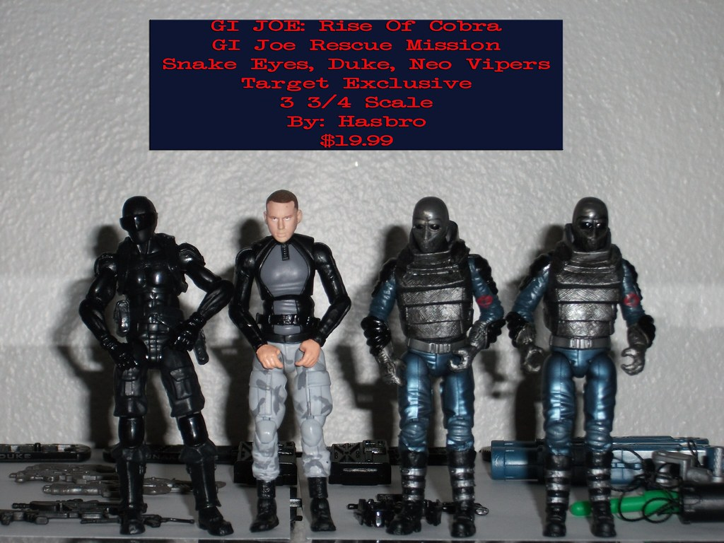 No Card NEO-VIPER Figure GI Joe Rise of the Cobra 25th Anniversary COMPLETE