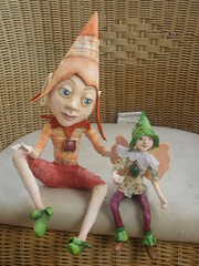 Imp and son (idit.biton) Tags: fairy clay demon imp drying papermache faries polymer