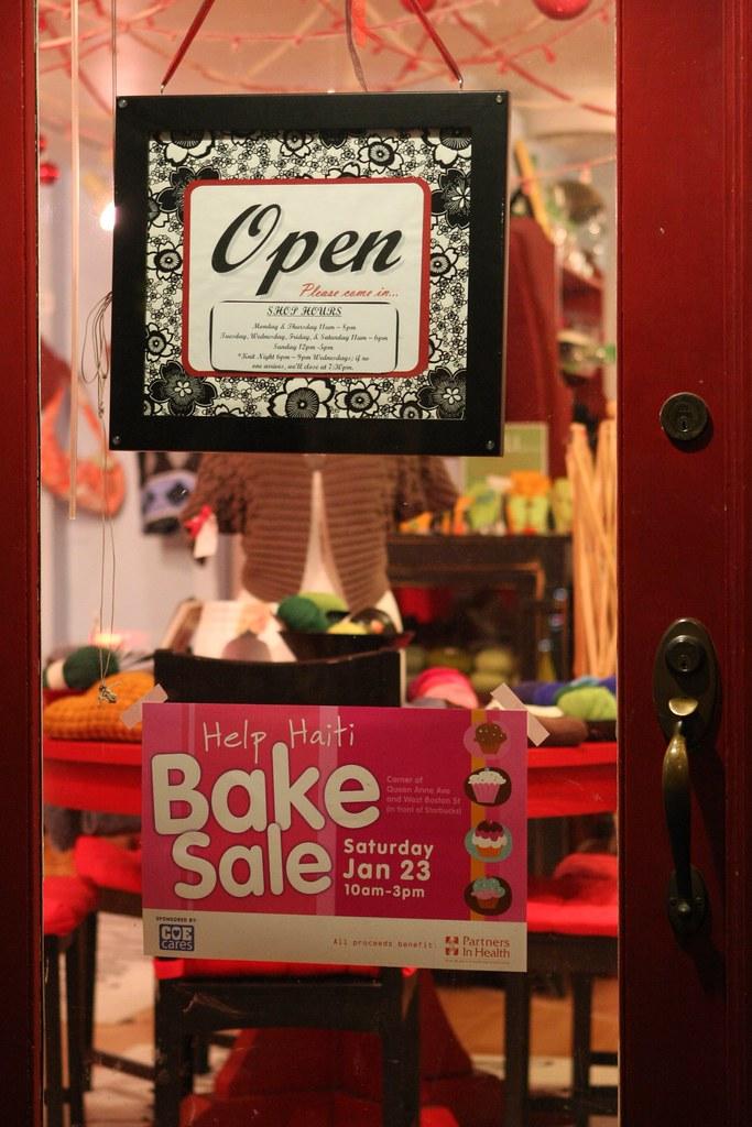 Help Haiti Bake Sale